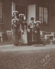 Spala 1912 with Irene of Prussia Tatiana Romanov, Anastasia Romanov, Familia Romanov, Romanov Sisters, Im A Princess, Grand Duchess Olga, House Of Romanov, Tsar Nicholas Ii, Imperial Russia