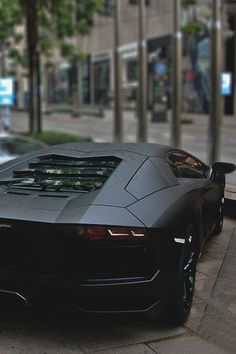 Matte Black Aventador Fuente:johnny-escobar