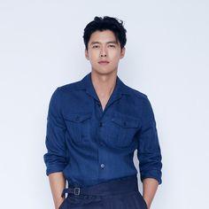 Likes, 83 Comments - Hyun Bin Hyun Bin, Asian Celebrities, Asian Actors, Korean Actors, Denim Button Up, Button Up Shirts, Korean Drama Series, Playful Kiss, Choi Jin Hyuk