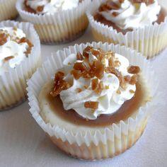 Food Pusher: Individual Dulce de Leche Cheesecakes