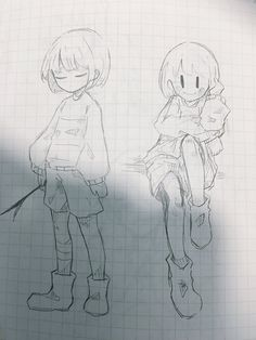 19 Ideas for drawing body sketches pose reference Undertale Drawings, Undertale Fanart, Undertale Au, Art Drawings Sketches, Cute Drawings, Body Sketches, Pixel Art Objet, Arte Sketchbook, Cute Art Styles