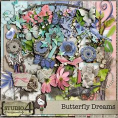 Personal Use :: Butterfly Dreams Kit, #thestudio and #AllIWant