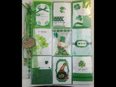 St  Patrick's Day Pocket Letter Pocket #8 +Shaker and finishing Touches/...