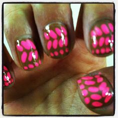Neon Pop Nails  http://tributetomycloset.blogspot.com/2012/02/neon-pop-nails.html