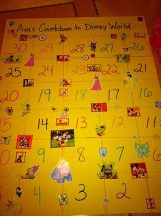 Disney Vacation Countdown Calendar