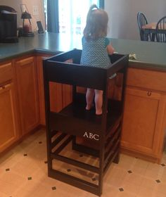 How To Build A Kitchen Helper Learning Tower My Mommy