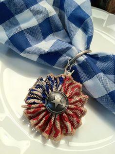 Patriotic Napkin Rings