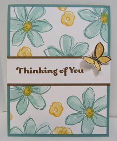 Personally Yours: September Stamping Class Projects: Stampin' Up! Garden in Bloom