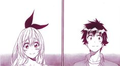 "ayame-waffuru: ""  Nisekoi Chapter 229 ""Zawsze in love"" - Raku and Chitoge """