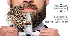 """Bartpracht Bart-Pflege-Öl """"Zindorf"""" (holzig-herb), hochwertiges, natürliches und veganes Bartöl für weiche, geschmeidig-glatte Vollbärte, 30ml: Amazon.de: Drogerie & Körperpflege"""