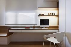 Decoración Futurista http://www.arquitexs.com/2014/09/decoracion-apartamento-tea-art-en-taipei.html