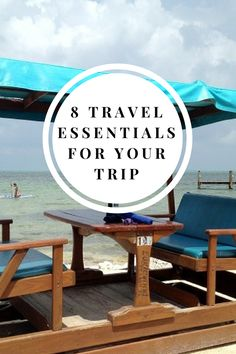 8 travel essentials for your trip! Here's a packing list | From important documents and chargers to moisturizers and carry on essentials - don't leave home without it!