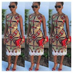 Hey Lovely ladies, Its late Friday but we've decided to share some lovely and unique ankara styles with you because why not. As an African women or lady African Dresses For Women, African Print Dresses, African Attire, African Wear, African Women, African Prints, African Style, African Fashion Designers, African Inspired Fashion