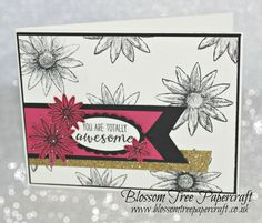 Stampin' Up! Grateful Bunch Simple Stampin Card using Sale-a-Bration Fre...