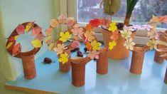 Simple, cute craft ideas for autumn - ideas # for . - Fall Crafts For Kids Fall Crafts For Kids, Cute Crafts, Preschool Crafts, Diy Crafts For Kids, Projects For Kids, Easy Crafts, Art For Kids, Autumn Activities For Kids, Fall Preschool