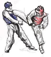 Resultado de imagen para combates de taekwondo tipo  pose