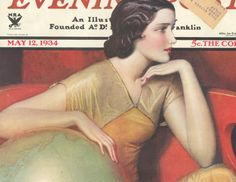 WT Benda cover  Saturday Evening Post  May 12 1934 by MelissaDixon, $50.00