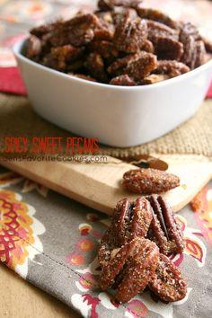 Spicy Sweet Pecans from Jen's Favorite Cookies
