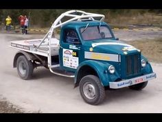 MONSTER TRUCK FROM RUSSIA ГАЗ 51 Tюнинг Tallinna Rally 2013 SS2, SS6 Nii...
