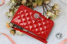 Lumiel Rose Quilting Wallet Case for LG L70