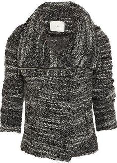 IRO Chanice bouclé-knit jacket on shopstyle.com