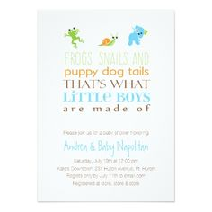 That's What Little Boys Are Made Of  | Child Bathe Card. *** Have a look at even more by checking out the picture