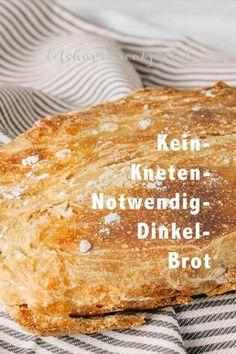 """Rezept für ein """"Kein-Kneten-Notwendig-Brot"""" - Sehr einfach und sehr lecker..."""
