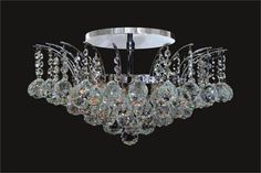 Get the best Crystal flush mount lightingsahoo123 right here at Kingdom Lighting USA. We offer top quality crystal lighting solutions at the most reasonable rates.