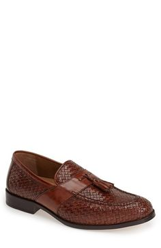Men's Johnston & Murphy 'Stratton' Leather Tassel Loafer