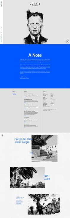 well.curatemag.co online design magazine modern new style best beautiful website webdesign designblog spain barcelona well curated mag www.mindsparklemag.com inspire Site of the day: Curate Magazine – Issue 4 by Curate Labs http://mindsparklemag.com/website/curate-magazine-issue-4/ #siteoftheday #curate #magazine
