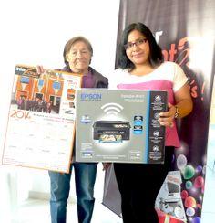 María García Salazar - Usuario 0241 Canjeo: 1 Impresora Epson multifuncional wifi