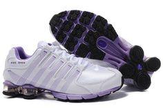 timeless design 57563 e7753 nike shox nz 2   Nike Shox NZ 2.0 Femme Blanc-Lilas-Noir acheter