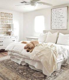 Room Ideas Bedroom, Dream Bedroom, Home Decor Bedroom, White Bedroom Decor, Farmhouse Master Bedroom, My New Room, Room Inspiration, Decoration, Sign Sign