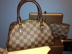 Louis Vuitton Damier Ebene Ribera Mini Tote Bag $643