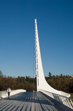 Santiago Calatrava - Sundial Bridge at Turtle Bay