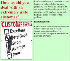 Know the customer service interview question to expect in your job ...