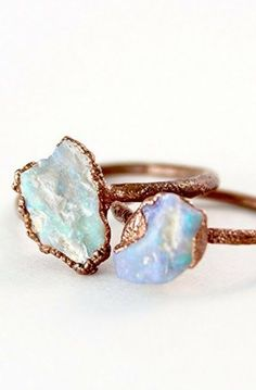 Raw Opal Boho Lux Engagement Ring