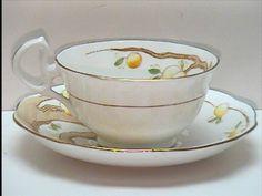 Vintage Royal Albert Crown China Tea Cup Teacup Saucer