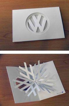 Sam Tucker Design: VW Christmas Card