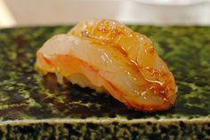 Sweet shrimp sushi at Urasawa http://darindines.com