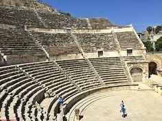 Viajes a Jordania: Viajes a Jordania -  El Teatro Romano