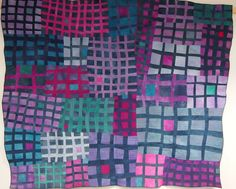 Art Quilt by Fiona Clancy - Grid 1