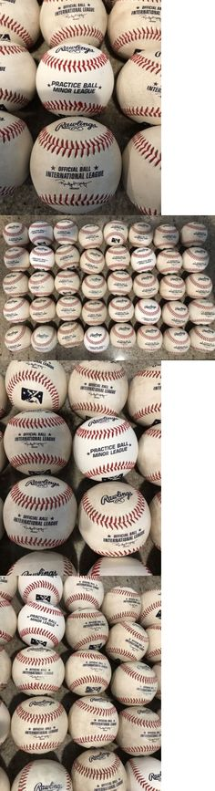 Baseballs 73893: 3 Dozen Rawlings Game Baseball Official Minor League Game Ball -> BUY IT NOW ONLY: $125 on eBay!