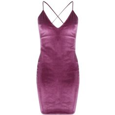 Boohoo Night Karrueche Velvet Strappy Bodycon Dress ($35) ❤ liked on Polyvore featuring dresses, sequin cocktail dresses, bodycon dress, party dresses, bodycon maxi dress and purple sequin dress