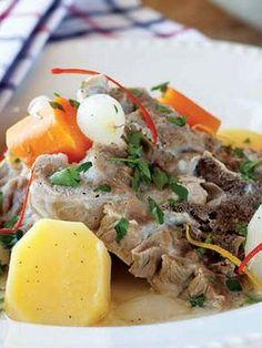 Terbiyeli kuzu gerdan Tarifi - Türk Mutfağı Yemekleri - Yemek Tarifleri