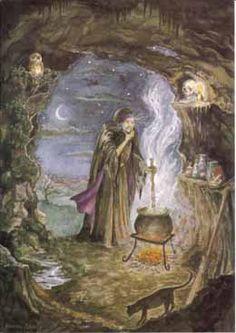 Celtic Lady: CELTIC HALLOWEEN: THE SAMHAIN CRONE