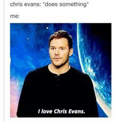 Yes!! I love Chris Evans ❤❤