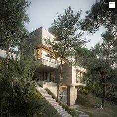 House in nature #01 by Marcel Lienhard | Architecture | 3D | CGSociety