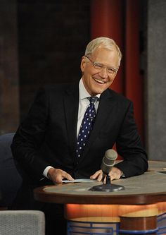 Thank you and goodnight -David Letterman #ThanksDave