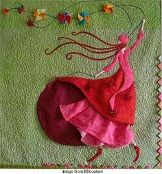sewn illustration by liliane d. /// inspiracion hecha a mano
